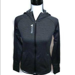 Reebok full zip sports hoodie. Size XS.